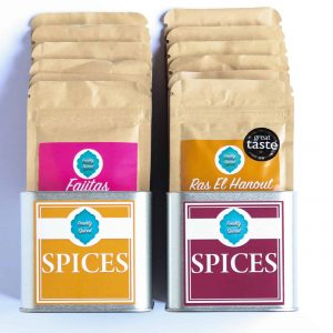 Deluxe Spice Tins