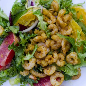 Prawn Winter Salad Recipe