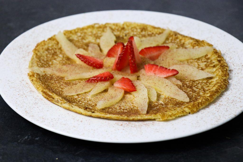 Strawberry & Pear Pancake