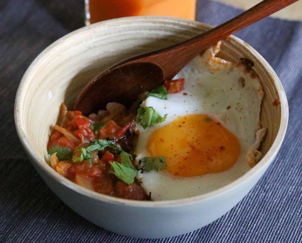 Berbere Eggs
