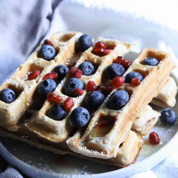 sweet spiced waffle