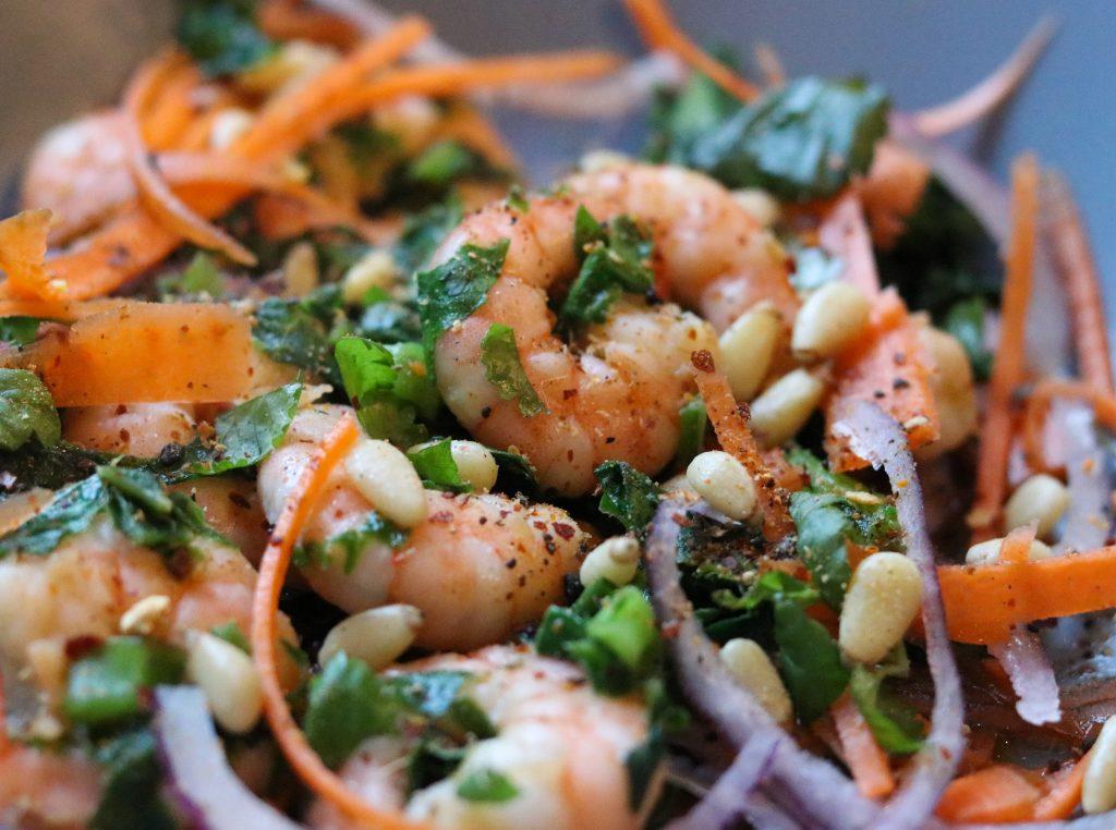 photo of Prawn Togarashi Salad Recipe