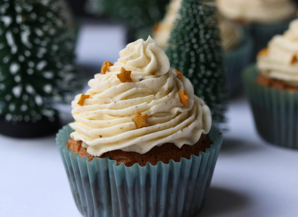photo of christmas cupcake recipe