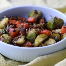 photo of spicy brussel sprouts