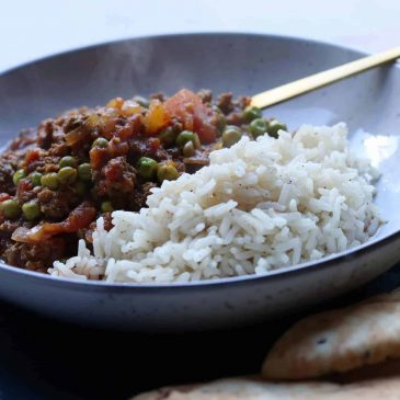 photo of beef keema recipe