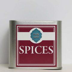 Maroon Spice Tin