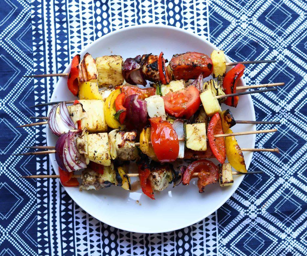 Za'atar Veggie Kebab Recipe