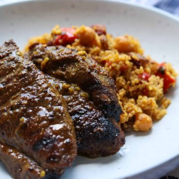 Moroccan Lamb Steak Recipe