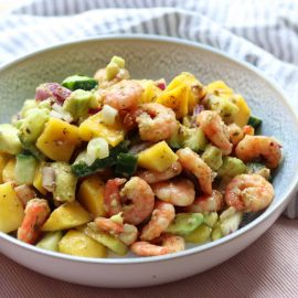 Fresh Fruity Prawn Salad Recipe