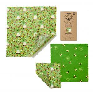 Photo of Beeswax Wrap Land Medium Pack