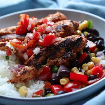 Mexican Chicken & Rice Bowl Recipe