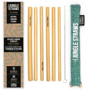 Photo of Marine Bamboo Straw Set