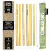Photo of Sage Bamboo Straw Set