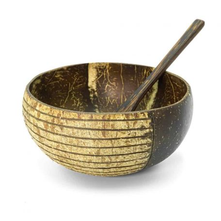 Photo of Jungle Culture Coconut Bowl and Wooden Spoon