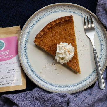Sweet Spiced Pumpkin Pie