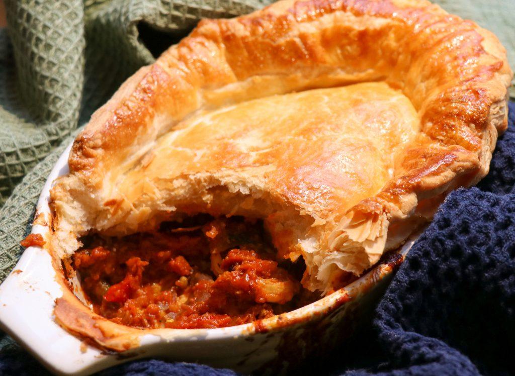 Chicken Curry Pie Recipe