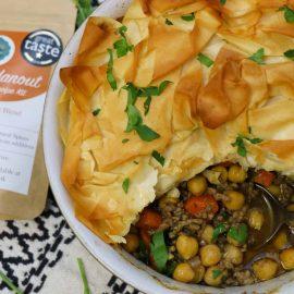 Moroccan Lamb Pie