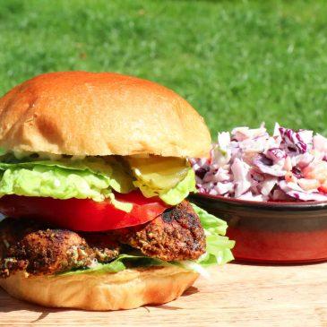 BBQ Chicken Burger Recipe