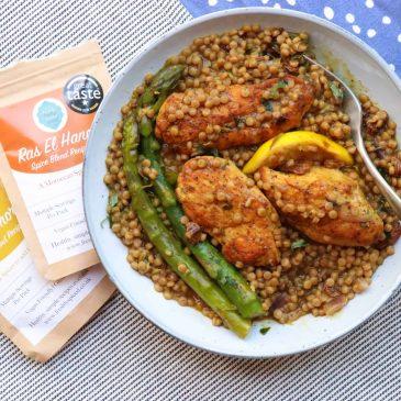 Moroccan Couscous & Chicken Recipe
